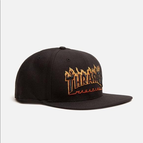 Thrasher x SF Giants Flame Hat bea4f32c3